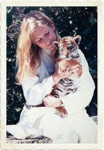 Susan and tiger cub